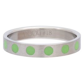 iXXXi Jewelry Vulring 4mm Round Green