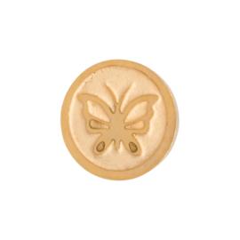 iXXXi Jewelry Top Changes Vlinder Goudkleurig