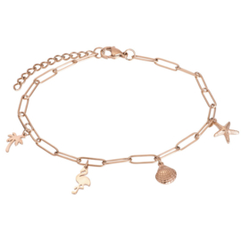 iXXXi Jewelry Ankle With Charms Rosé
