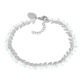 iXXXi Jewelry  Bracelets Malediven Green Zilverkleurig