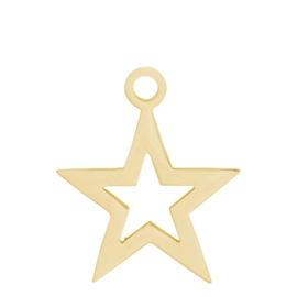iXXXi Jewelry Charm Open Ster Goud
