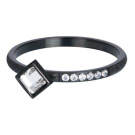 iXXXi Jewelry Vulring Lumi 2mm Zwart