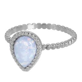 iXXXi Jewelry Vulring Magic Snow 2mm Zilverkleurig