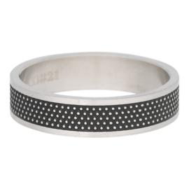 iXXXi Jewelry Men Row Dots Mat 6mm