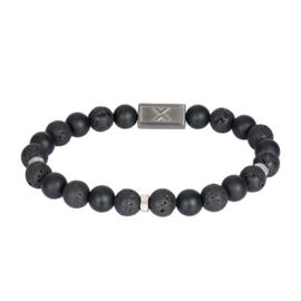 iXXXi Men Bracelet Mex Mat Zwart
