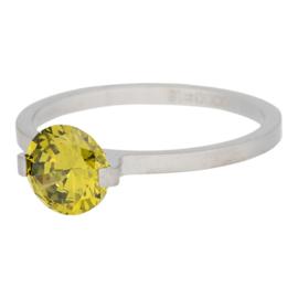 iXXXi Jewelry Glamour Stone Olivina Mat Zilverkleurig