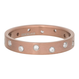 iXXXi Jewelry Zirconia 14 Steens Cristal Mat Bruin 4mm