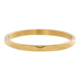 iXXXi Jewelry Hammerite Goudkleurig 2mm