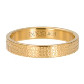 iXXXi Jewelry Vulring 4mm Giraffe Goudkleurig