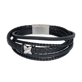 iXXXi Men Armband Elias Zwart