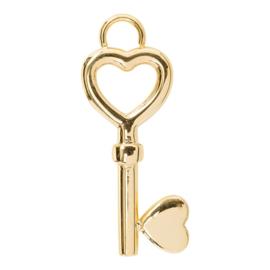 iXXXi Jewelry IJCC07-1 Charm Sleutel Goud