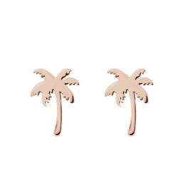 iXXXi Jewelry Ear Studs Palm Tree Rosé
