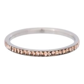 iXXXi Jewelry Zirconia Gold Quartz Zilverkleurig 2mm
