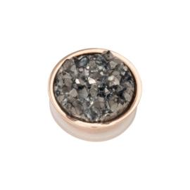 iXXXi Jewelry Top Part Drusy Dark Grey Rosé