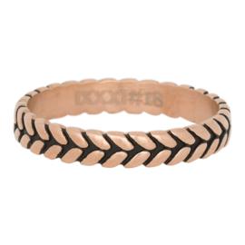 iXXXi Jewelry Leaf Knot Rosé 4mm