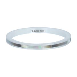 iXXXi Jewelry Vulring Ceramic Grey Shell 2mm