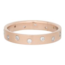 iXXXi Jewelry Zirconia 14 Steens Cristal Mat Rosé 4mm