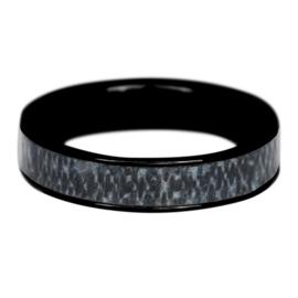 iXXXi Jewelry Men Jeans Mat Zwart 6mm