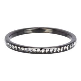iXXXi Jewelry Zirconia Cristal Zwart 2mm