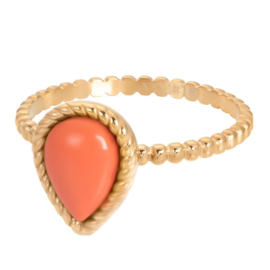 iXXXi Jewelry Vulring Magic Coral Gold