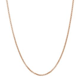 iXXXi Jewelry Ketting 3mm 80-100 cm Rosé