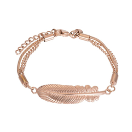 iXXXi Jewelry Bracelet Feather Rosé