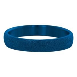 iXXXi Jewelry Sandblasted Blauw 4mm