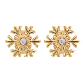 iXXXi Jewelry Oorbellen Snowflake Goudkleurig