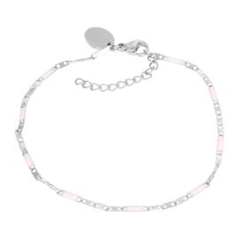 iXXXi Jewelry Bracelets Curacao Pink Zilverkleurig