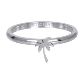 iXXXi Jewelry Vulring Symbol Palm Tree Zilverkleurig 2mm