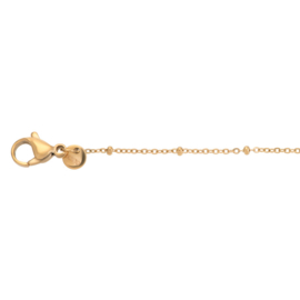 iXXXi Jewelry Collier Slim Ball 50+5cm Goudkleurig
