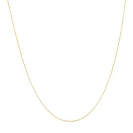 iXXXi Jewelry Ketting 1mm 40-80cm Goudkleurig