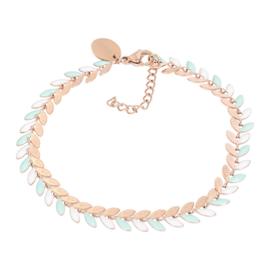 iXXXi Jewelry Bracelets Malediven Green Rosé
