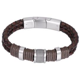 iXXXi Men Bracelet Murphy Mat Zilver