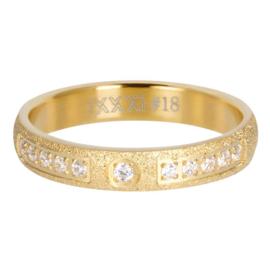 iXXXi Jewelry Vulring Blaze 4mm Goudkleurig