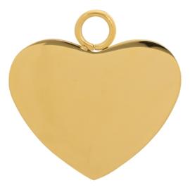 iXXXi Jewelry Charm Hart Goud