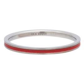 iXXXi Jewelry Vulring 2mm Line Red