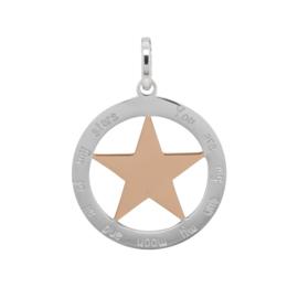 iXXXi Jewelry Hanger Ster Rosé Zilverkleurig  ∅38
