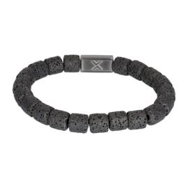 iXXXi Men Bracelet Jules Mat Zwart