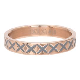 iXXXi Jewelry Vulring 4mm X Line Rosé