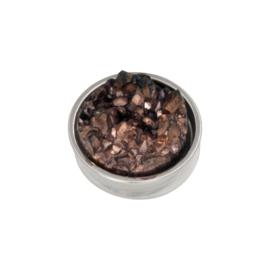 iXXXi Jewelry Top Part Drusy Copper Zilverkleurig