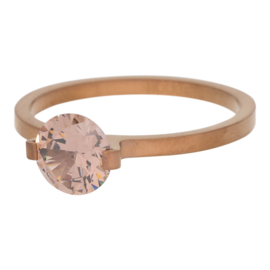 iXXXi Jewelry Glamour Stone Smoked Topaz Bruin 2mm
