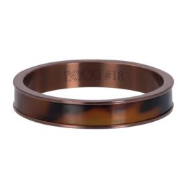 iXXXi Jewelry Vulring 4mm Tiger Bruin