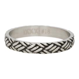 iXXXi Jewelry Love Knot Zilverkleurig 4mm