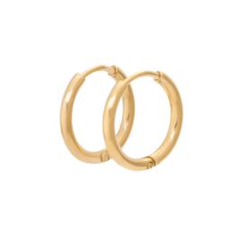 iXXXi Jewelry Creool 15 mm Goudkleurig