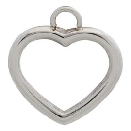 iXXXi Jewelry Charm Open Hart Zilverkleurig