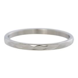 iXXXi Jewelry Hammerite Zilverkleurig 2mm