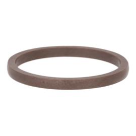iXXXi Jewelry Keramiek Bruin 2mm