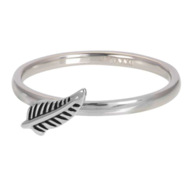iXXXi Jewelry Vulring Symbol Feather Zilverkleurig 2mm