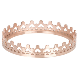 iXXXi Jewelry Vulring Royal Crown 1mm Rosé